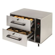 Star® SDW2 2-Drawer Standard Food Warming Drawer with LED Display