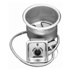 APW Wyott CH-11D Electric Drop-In 11 Qt Food Warmer with Drain