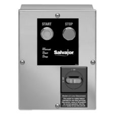 Salvajor Non-Reversing Push Button Control w/ Safety Line Disconnect