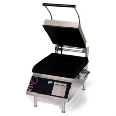 "Star® Mfg. Pro-Max® Alum. 14"" Two Sided Smooth Grill"