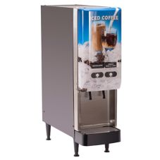 BUNN 37900.0009 Silver Series 2-Flavor Gourmet Cold Beverage System