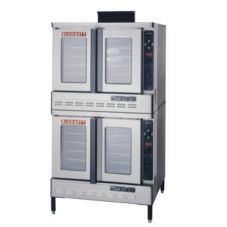Blodgett DFG-100 DOUBLE Gas Convection Oven w/ Fan and 2 Base Sections