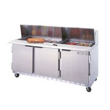 Beverage-Air SPE72-18 Elite Refrigerated Counter with 18 Pan Openings