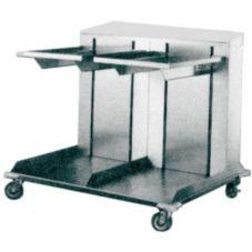 APW Wyott CTRD-1418 Dual Cantilever Lowerator 14 x 18 Tray Dispenser