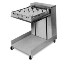 APW Mobile Cantilever Lowerator® 10x14 Tray Dispenser, CTR-1014
