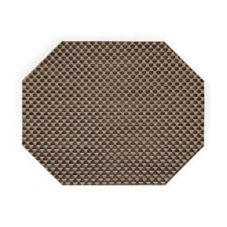 "FOH XPM055COV83 11"" x 14"" Copper Basketweave Mat - 12 / CS"