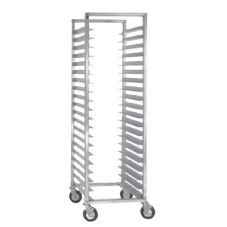CresCor® 207-1524 Full Height Mobile Utility Rack with Open Sides