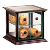 Cal-Mil 813-52 4 Drawer Wood Frame Bread Box with Acrylic Drawers