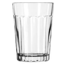 Libbey 15640 Paneled Duratuff 8.5 Oz Juice Tumbler Glass - 36 / CS