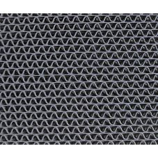 3M™ 6250 Gray 3' x 4' Medium Traffic Scraper Matting