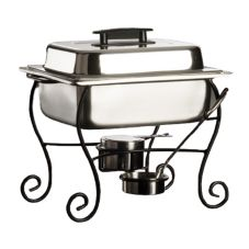 American Metalcraft CFK5 Chafer Kit w/ Pans, Lid, and Fuel Holders