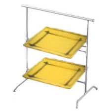 Dover Metals D-375SPMUS Steel Coloma Stand With 2 Mustard Plates