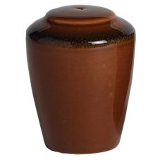 Steelite 11230842 Terramesa Mocha Madison Pepper Shaker - 12 / CS