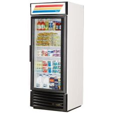 True GDM-26-RF-LD Glass Swing Door 26 Cu Ft Radius Front Refrigerator