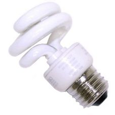 Accuserv 58009 Compact Fluorescent 9W Screw-In Bulb - 4 / PK