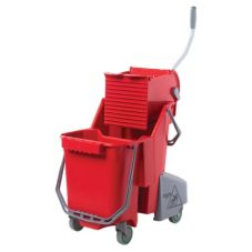 Unger® COMBR CLEANERx 8 Gallon Red Dual Bucket