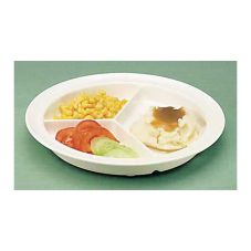 North Coast Medical NC35699 GripWare™ Partitioned Scoop Dish
