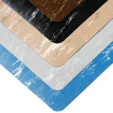 Notrax 470-BL Sof-Tyle Black Marble 2' x 3' Anti-Fatigue Mat