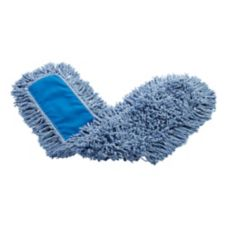 Rubbermaid® FGJ25500BL00 Blue Twisted Loop Blended 36 In. Dust Mop