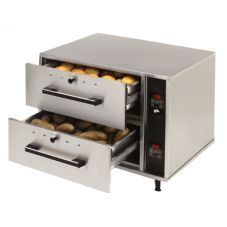 Star® Mfg 2-Drawer Standard Food Warmer w/ Individual Controls