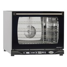 Cadco XAFT-135 Half-Size Convection Oven with 4 Shelves and Humidity