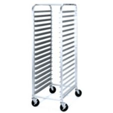 "Metro® RT183N Mobile End Loading ""Knock Down"" 18-Tray Rack"
