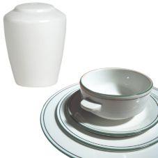 Steelite 13150842 Simplicity Laguna Harmony Pepper Shaker - 12 / CS