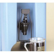 Cambro® LCDES110 Black Easy Serve Dispenser For LCD and UC Spigots