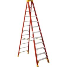Werner Fiber Glass Step Ladder, 12 Feet