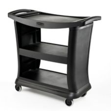 Rubbermaid Executive Black Service Cart