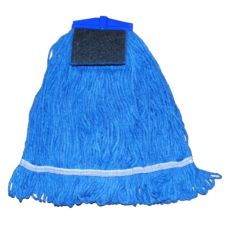 O'Dell 7AFSM Blue Twist-On Mop Head - 2 / BG
