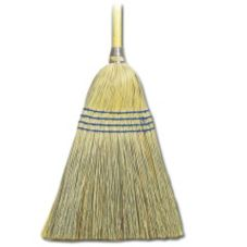 O'Dell B51000Y Yellow Handle Corn / Fiber Broom