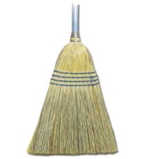 "O'Dell® B510001 Blue Handle 55"" Corn / Fiber Broom"