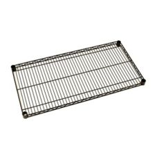 Metro 18 x 18 Black Super Erecta Wire Designer Shelf