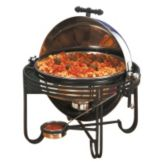 American Metalcraft MESA19 Mesa™ Round S/S 6 Qt. Rolltop Chafer