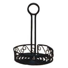 American Metalcraft WBCC7 Ironworks Scroll 7-1/4 In. Condiment Caddy