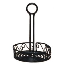 American Metalcraft Ironworks™ Scroll 7-1/4 In. Condiment Caddy