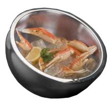 American Metalcraft AB12 S/S 108 Oz Angled Double-Wall Insulated Bowl