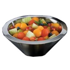 American Metalcraft AB8 S/S 54 Oz Angled Double-Wall Insulated Bowl