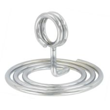 "American Metalcraft NSC1 Swirl Base Chrome 1-1/2""H Number Stand"