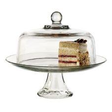Anchor Hocking 87892L8 Glass 2 Piece Cake Set - 2 / CS