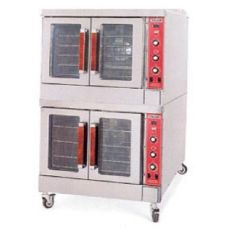 Vulcan Hart S/S Double Deck Gas Convection Oven