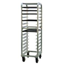 New Age Industrial 4332 Aluminum End-Load 15-Bun Pan Capacity Rack