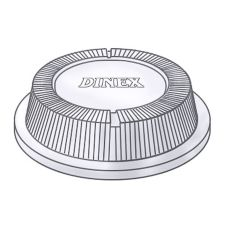 Dinex® DX11830174 Disposable Lid for DX3300 and DX1187 - 1000 / CS