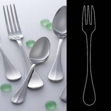 "Steelite 5307S001 Leopardi S/S 6"" US Teaspoon - Dozen"