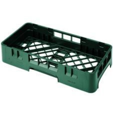 Cambro HBR258119 Sherwood Green Camrack Half Size Base Rack - 6 / CS