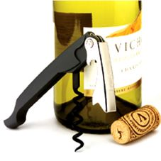Focus Black Swing-A-Way Waiter's Corkscrew W/Cap Lifter