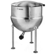 Groen™ FT-40 Direct Steam 40-Gallon 2/3 Jacketed Tri-Leg Kettle