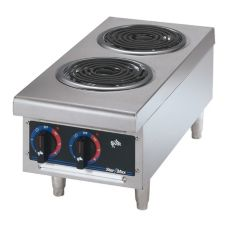 Star® 502F Star-Max® Electric Hot Plate with Two Coil Burners