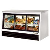 True TSID-72-6-L 6-Sliding Door 25 Cu Ft Pass-Thru Deli Case
